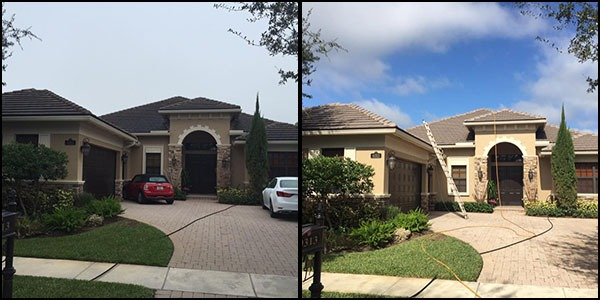 HOA roof cleaning services